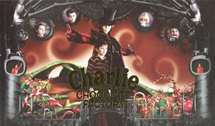 「チャーリーとチョコレート工場」パンフレット