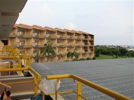 ベランダから見た軽井沢倶楽部ホテル石垣島