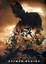 「バットマン ビギンズ」パンフレット